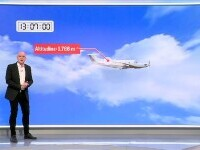 ANIMAȚIE GRAFICĂ. Filmul prăbușirii avionului miliardarului Dan Petrescu. Ce spune un expert pilot