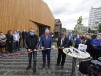 Un parc a fost inaugurat înainte de referendumul local, chiar dacă nu era finalizat. Apoi, lucrările au continuat