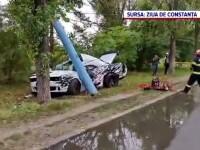 Un șofer teribilist și-a găsit sfârșitul într-un stâlp, la Mamaia. Șicanase alți participanți la trafic
