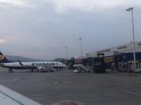 Călătorie cu peripeții. Un avion nu a putut ateriza în Corfu din cauza vremii și s-a întors în București