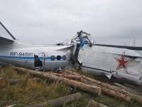 Un avion s-a prăbușit în Rusia. 19 persoane au murit, iar alte trei au fost rănite