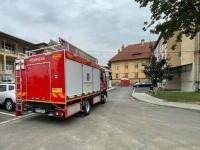 """Pompierii au trimis o mașină să păzească Spitalul """"Victor Babeș"""" din Timișoara de incendii, dar au retras-o a doua zi"""