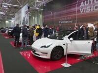 Maşinile verzi, vedetele Salonului Auto București. Prețurile pornesc de la 25.000 de euro