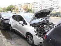 Carambol în Târgoviște. Trei mașini au fost avariate, după un accident produs de un șofer neatent