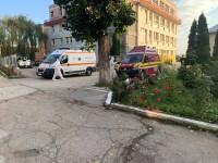 spitalul Targu Carbunesti instalatie oxigen