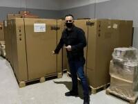Caz șocant în România, în plină pandemie. Aparatură medicală, destinată unui spital întreg, zace nefolosită de un deceniu