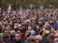 Protest de amploare în Budapesta. Mii de oameni l-au contestat pe premierul Viktor Orban