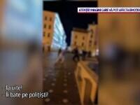 Un scandalagiu băut din Timișoara i-a luat la bătaie pe polițiștii locali care voiau să-l legitimeze