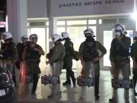 Șapte polițiști din Grecia au fost arestați pentru crimă după ce au ucis cu zeci de gloanțe un șofer pe care îl urmăreau