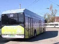 Cum arată autobuzul pe bază de hidrogen testat la Cluj. Costă jumătate de milion de euro
