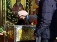 Pelerinajul din Capitală se apropie de final. Mii de creștini s-au închinat la Sfântul Dimitrie Basarabov