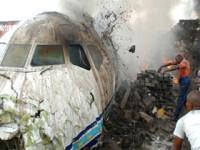 Rusia: 88 de morti dupa ce un avion s-a prabusit