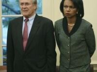 Donald Rumsfeld a facut-o sa planga pe Condoleeza Rice