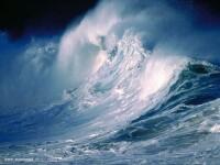 Furtuna deosebit de puternica anuntata la Marea Neagra