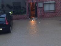 Potop in Spania! Mai multe orase au fost inundate