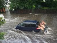 Furtuni violente in Europa: noua persoane au fost ranite!