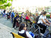 Mars al biciclistilor in Capitala