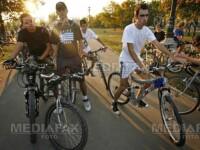 Mars al biciclistilor de Ziua Europeana fara Masini, la Cluj