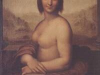 Mona Lisa in varianta nud, pictata chiar de da Vinci!