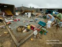 Sute de case distruse in Mexic de uraganul Jimena!