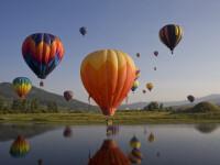 200 de baloane cu aer cald s-au inaltat spre cer in Warstein, Germania