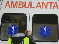Un politist a ajuns in spital dupa ce s-a ciocnit cu masina salubrizarii