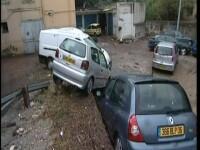 Haos in sud-estul Frantei, in urma unor inundatii de proportii!