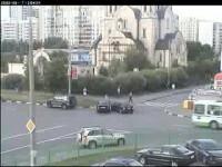 Intersectia blestemata: accidente pe banda rulanta! VEZI VIDEO!