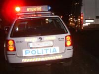 Un politist beat a tamponat trei masini, inclusiv una de politie