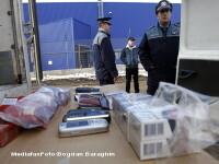150.000 de tigari, confiscate de pe piata neagra din Botosani si Buzau