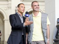Catalin Radu Tanase isi joaca propriul rol intr-un film cu Van Damme!