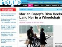 Revista presei: Mariah Carey, in scaunul cu rotile!