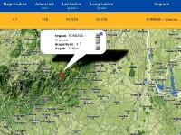 Cutremur cu magnitudinea de 3,2 in Vrancea