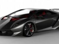 Vedeta salonului auto de la Paris: Lamborghini Sixth Element Concept