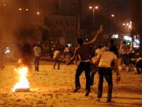 520 de raniti la Cairo dupa ce ambasada israeliana a fost asediata
