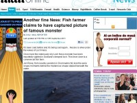N-a crezut niciodata in legenda monstrului din Loch Ness pana nu a facut aceasta fotografie