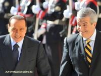 Presa italiana: In timp ce avea intalniri oficiale cu Tariceanu, Berlusconi isi aranja