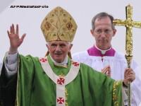 Papa Benedict, prima sa vizita oficiala in Germania: religie, proteste si discutii despre criza