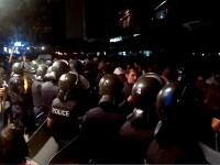 3 zile de proteste anti-tigani in Bulgaria. 170 de persoane, retinute inainte sa ajunga la Parlament