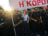 Atena, paralizata complet de greve. Transportul in comun nu mai exista, tot orasul protesteaza