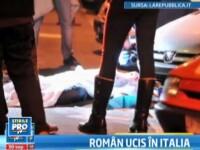 Roman de 22 de ani, omorat in Torino. Principalul suspect este tot un roman, anunta MAI