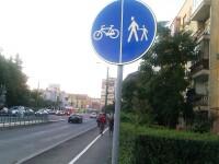 Au aparut primele piste de biciclete trasate pe trotuare. Afla unde poti pedala in Arad