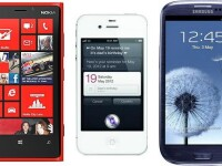 Razboiul gigantilor: Lumia 920 vs. iPhone 4S vs. Galaxy S III