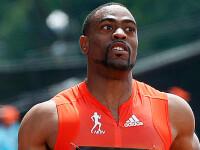 Adidas a suspendat contractul cu Tyson Gay dupa ce a fost depistat pozitiv la un test anti-doping