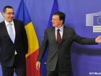 Ponta spune ca s-a convenit cu Barroso ca raportul MCV sa nu fie facut public in campania electorala