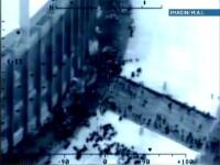 ROMANIA - UNGARIA 3-0. Cum s-a vazut din elicopter razboiul jandarmilor cu suporterii maghiari