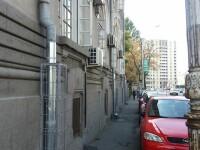 Sistemul anti-hoti pentru burlanele Judecatoriei din Sectorul 1 al Capitalei. FOTO