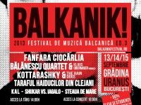 Muzica balcanica, chiromantie si preparate culinare, de vineri, in Capitala, la Balkanik Festival