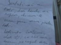 Biletul de adio lasat de un barbat care s-a sinucis, dupa ce un medic i-ar fi spus ca va orbi