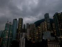 Super-taifunul Usagi face ravagii in Asia. Hong Kong, la un pas de a fi un oras complet paralizat